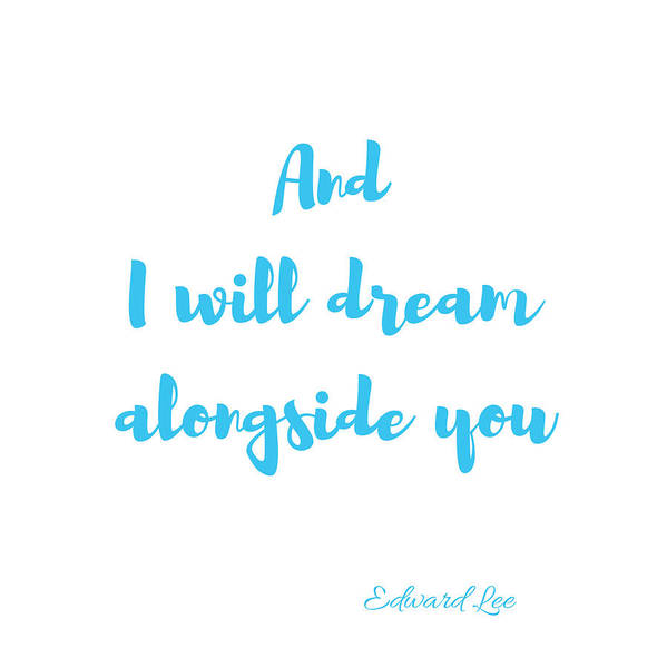 And I Will Dream Poster