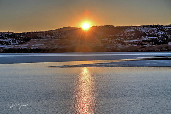 Poster featuring the photograph Angostura Sunset by Bill Gabbert