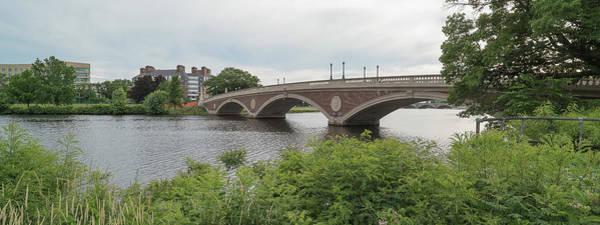 Arch Bridge Over River, Cambridge Poster