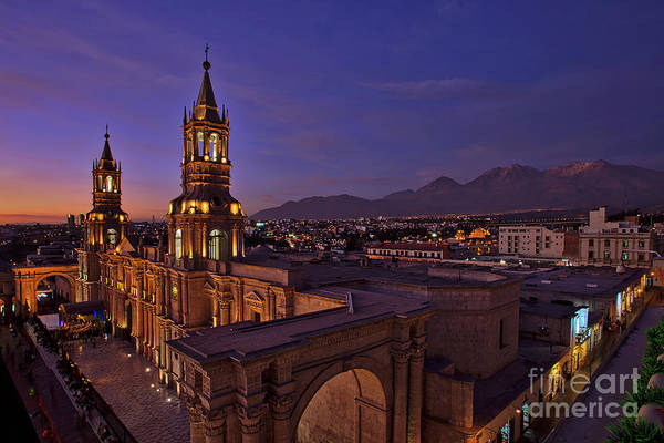 Arequipa Is Peru Best Kept Travel Secret Poster