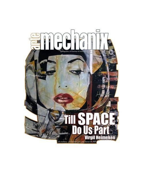 arteMECHANIX 1909 TILL SPACE GRUNGE Poster