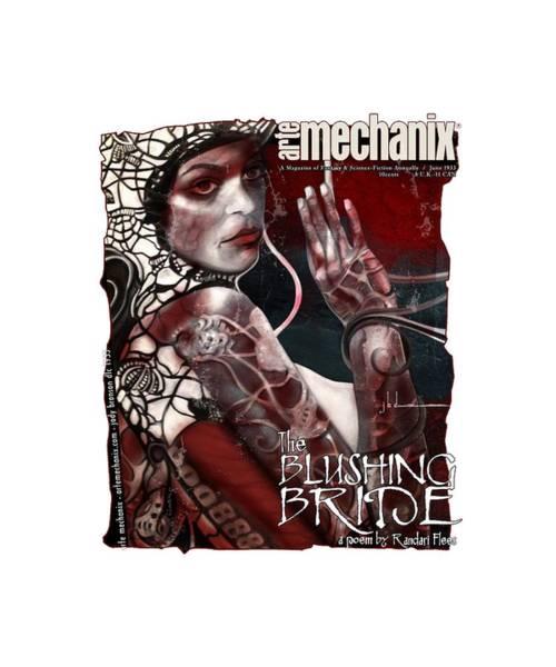 arteMECHANIX 1933 The BLUSHING BRIDE GRUNGE Poster