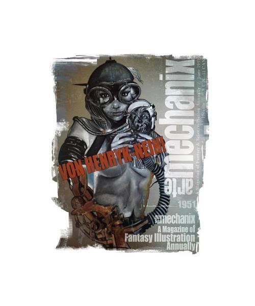 arteMECHANIX 1951 VON HENRYK-NEIN GRUNGE Poster