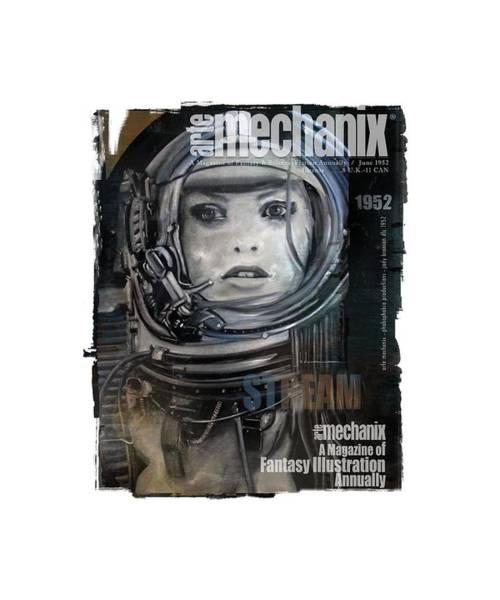 arteMECHANIX 1952 STREAM  GRUNGE Poster