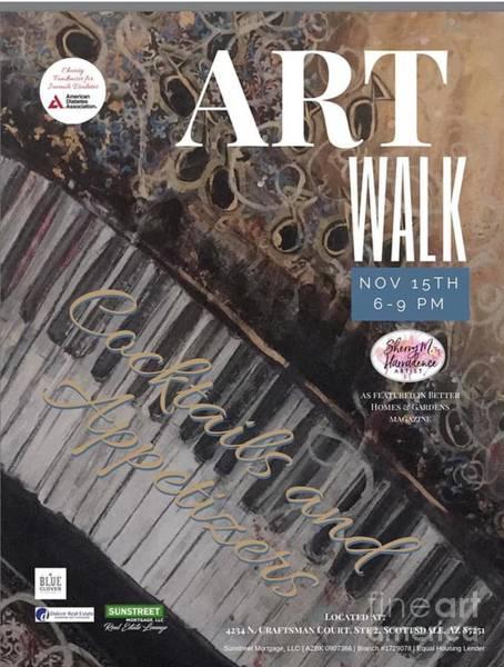 Artwalk Art Show Scottsdale  Poster