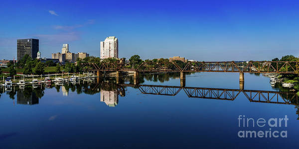 Augusta Ga Savannah River Panorama Poster
