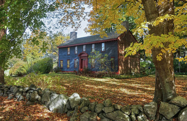 Poster featuring the photograph Autumn At Short House by Wayne Marshall Chase