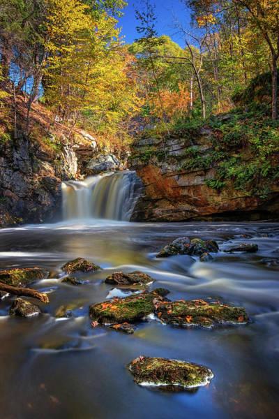 Autumn Day At Doane's Falls Poster