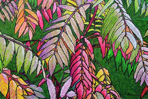 Autumn Sumac Poster