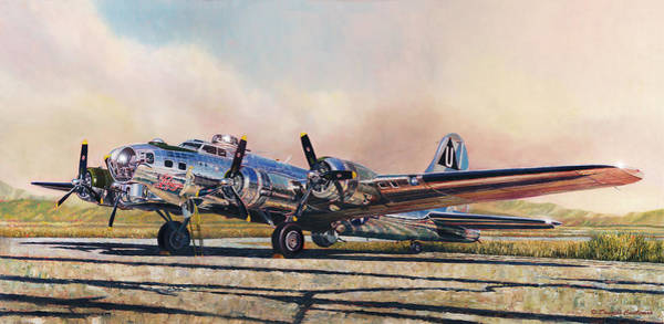 B-17g Sentimental Journey Poster
