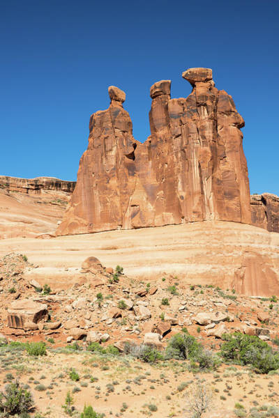 Balanced Rocks In Arches Poster