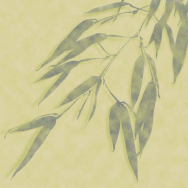 Bamboo Leaves 0580b Poster