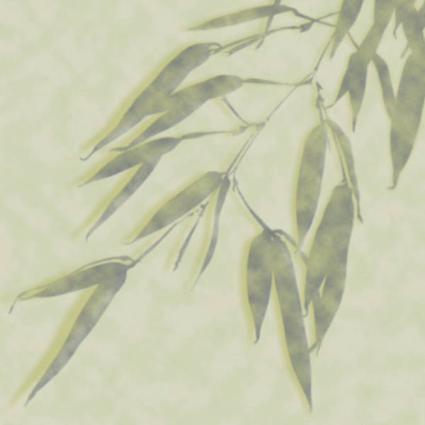 Bamboo Leaves 0580c Poster