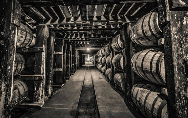 Barrel Aging Bourbon Poster