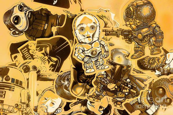 Battle Of A Sci-fi Design Poster