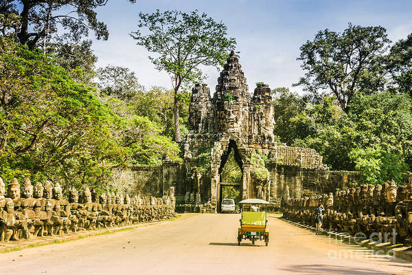 Bayon ,siem Reap ,cambodia, Was Poster