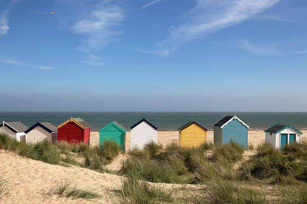 Beach Huts, Southwold, East Anglia Xxxl Poster