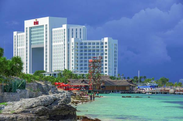 Beach Life In Cancun Poster