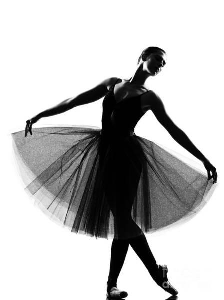 Beautiful Caucasian Tall Woman Ballet Poster