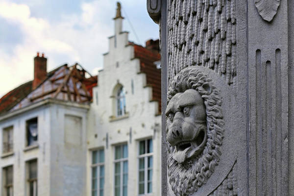 Belgian Coat Of Arms Poster