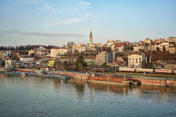 Belgrade Cityscape Poster