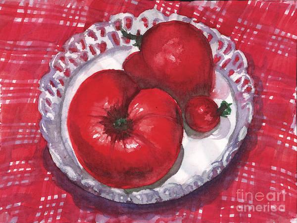 Bella Tomatoes Poster