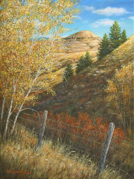 Belt Butte Autumn Poster