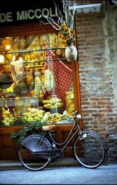 Bike In Sienna Poster