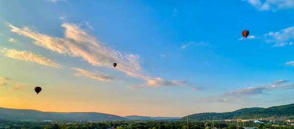 Binghamton Spiedie Festival Air Ballon Launch Poster