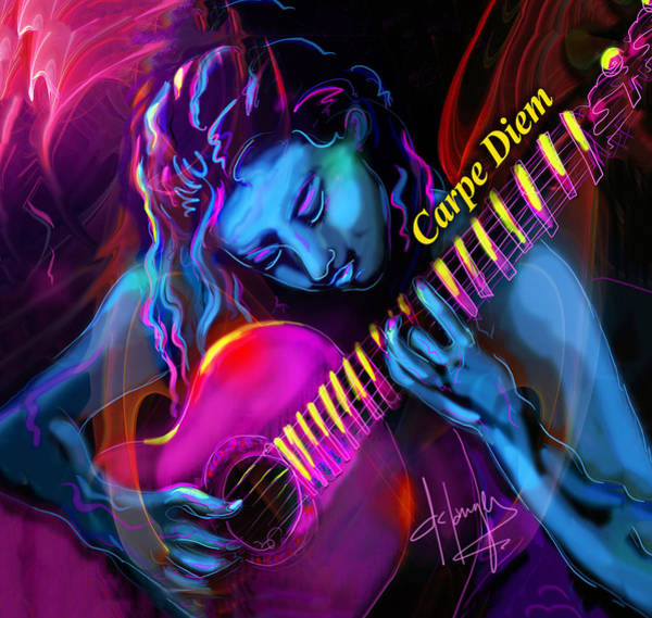 Blue Heart, Carpe Diem Poster