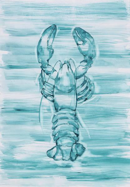 Blue Lobster Poster