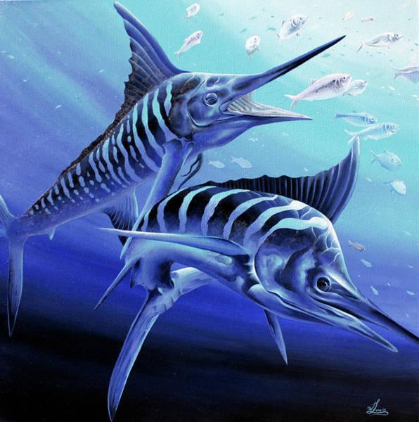 Blue Marlins Poster