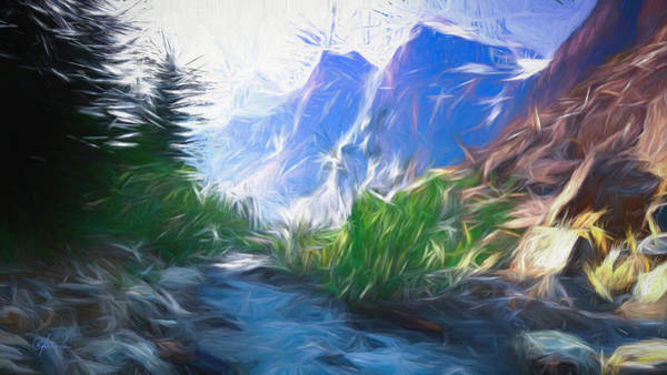 Blue Montains Poster