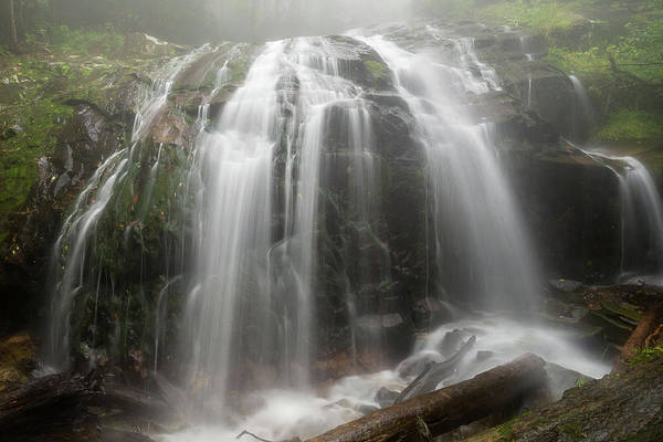 Blue Ridge Mountain Falls Poster