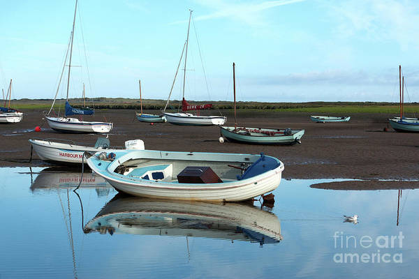 Brancaster Staithe Reflections Poster