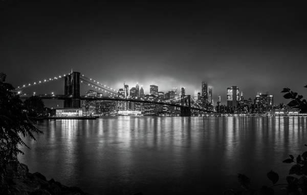Bright Lights Of New York Poster