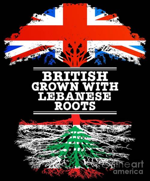 British Grown With Lebanese Roots Poster