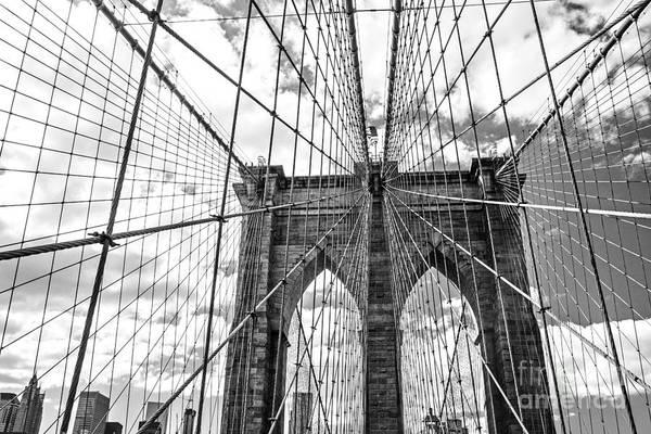 Brooklyn Bridge, New York, Usa Poster