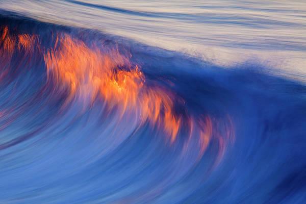 Burning Wave Poster
