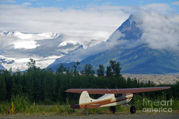 Bush Pilot In The Wilderness Of Alaska Poster