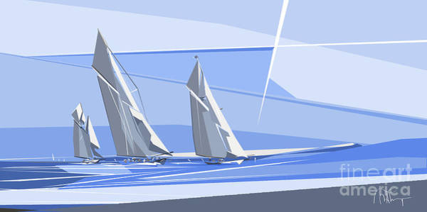 C-class Yachts Poster