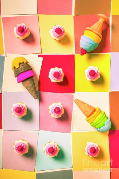 Candy Calendar Poster