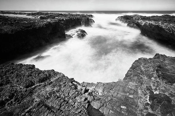 Poster featuring the photograph Cape Perpetua by Whitney Goodey