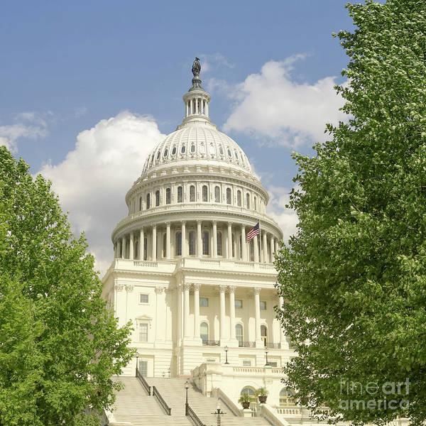 Capitol Building Washington Dc 2  Poster