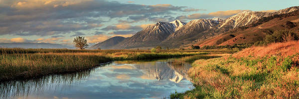 Carson Valley Sunrise Panorama Poster