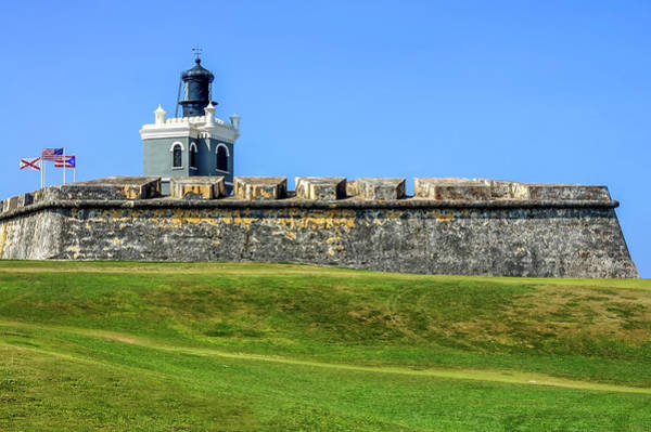 Poster featuring the photograph Castillo San Felipe Del Morro, Old San Juan, Puerto Rico by Dawn Richards