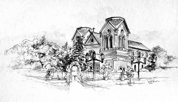 Cathedral Basilica Of St. Francis Of Assisi - Santa Fe, New Mexico Poster