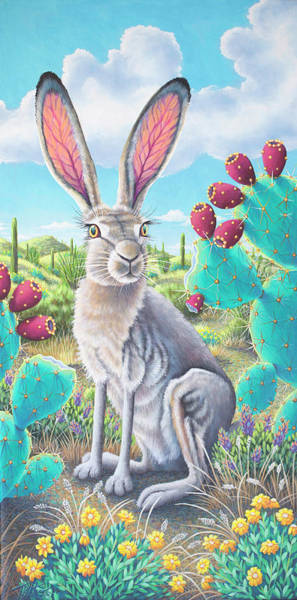 Catus Jack's Prickly Paradise Poster