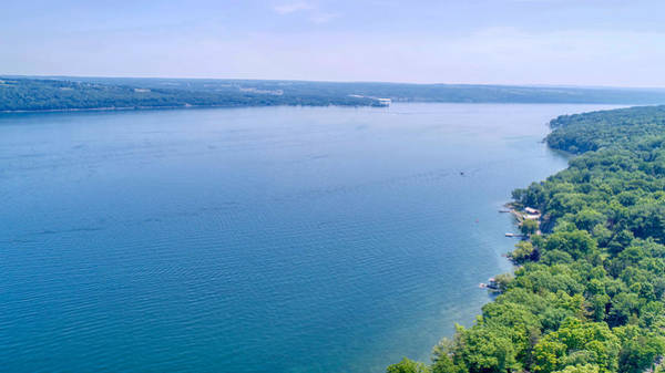 Cayuga From Above Poster