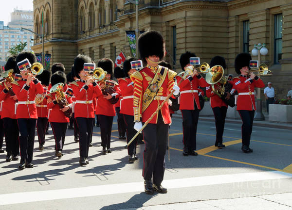 Changing Of The Guard In Ottawa Ontario Canada Poster